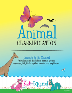 Animal Classification Lesson