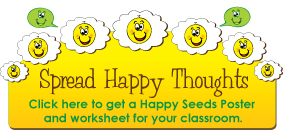 Happy Thought Seeds Poster
