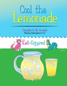 Missing Subtractend to 10 (Cool the Lemonade) from Kat and Squirrel