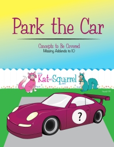 Park the Car Lesson - Missing Addends to 10
