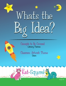 What's the Big Idea? Literary Themes Lesson (Star Design