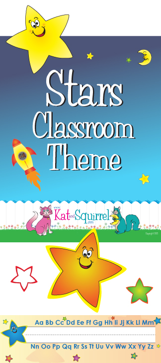 Star Classroom Theme Artwork