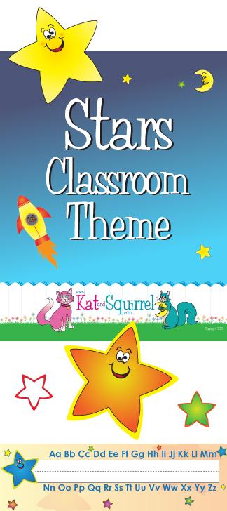 Star Classroom Theme Artwork