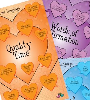 Love Language Posters