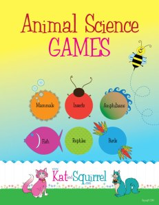 Animal Science Games for t Elementary School Grades Classroom