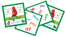 Pair It Parrot Fry Words Game Lesson Group 1