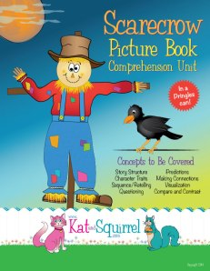 Scarecrow Picture Book Comprehension Unit from Kat and Squirrel