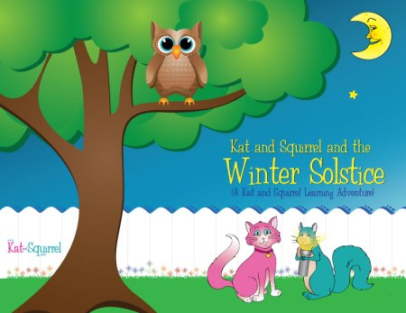 Kat and Squirrel and the Winter Solstice - KatandSquirrel.com