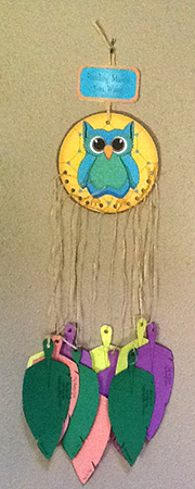 Owl Dreamcatcher - Kat and Sqiuirrel
