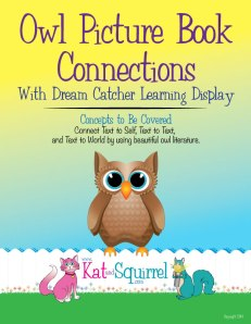 Owl Picture Book Lesson - Kat and Squirrel