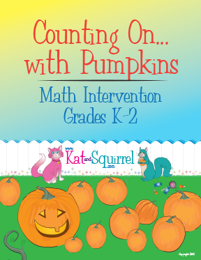 Counting On with Pumpkins - Kat and Squirrel