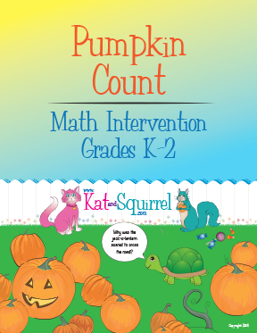 Pumpkin Count - KatandSquirrel