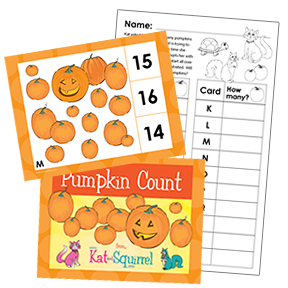 Pumpkin Count Lesson