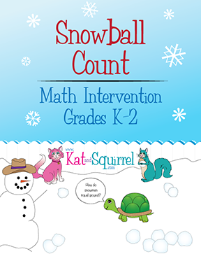Snowball Count - Kat and Squirrel