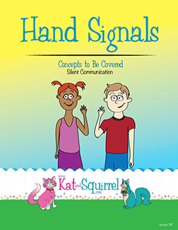 Silent Communication Classroom Hand Signals from Kat and Squirrel