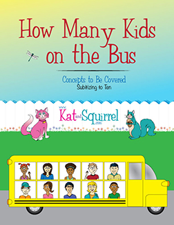 Math Lesson from Kat and Squirrel - How many kids on the bus?
